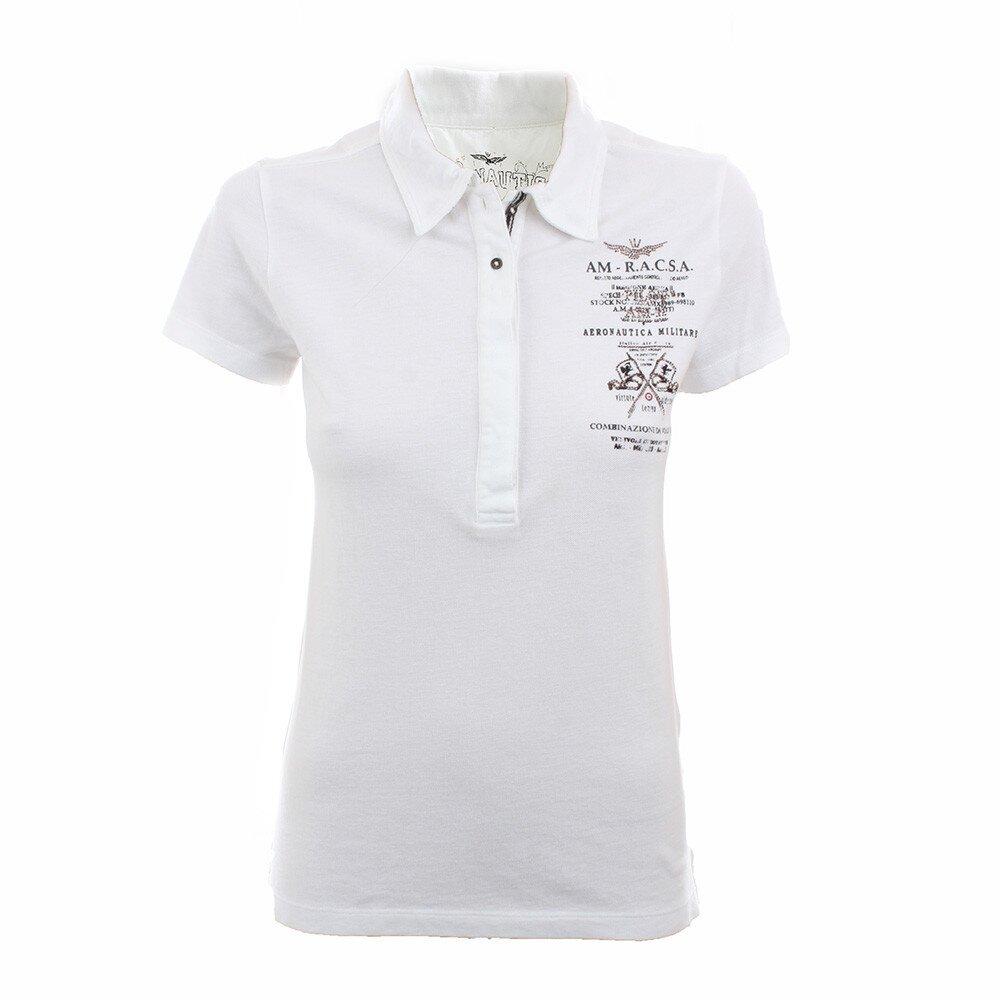 32205e332157 Dámske biele polo tričko Aeronautica Militare