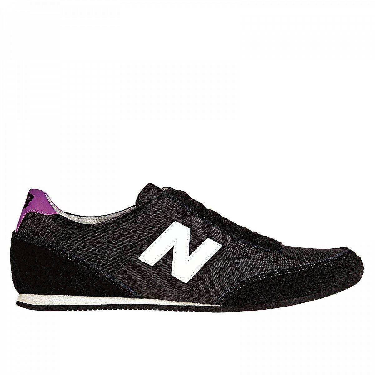 Dámske čierne tenisky New Balance s fialovými detailami  418849dcb01