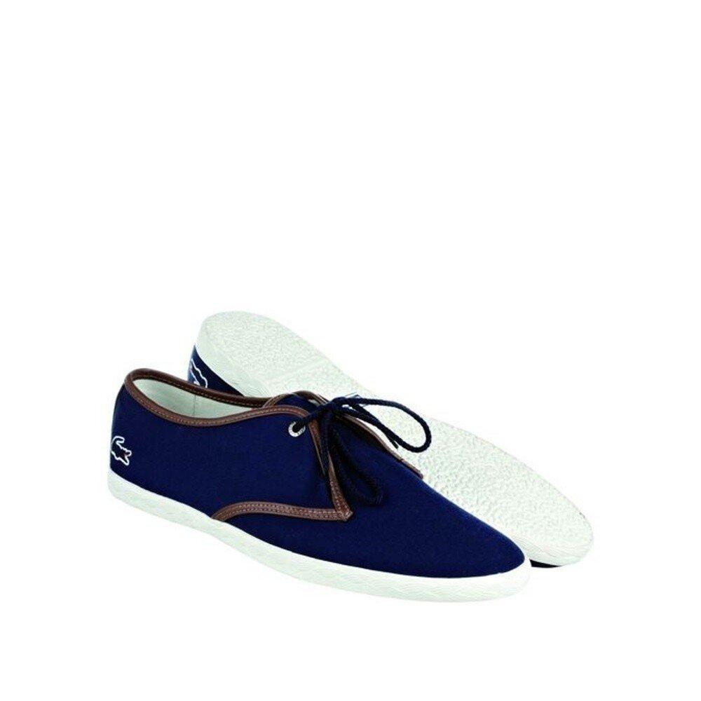 Pánske indigovo modré tenisky Lacoste  204694620f2