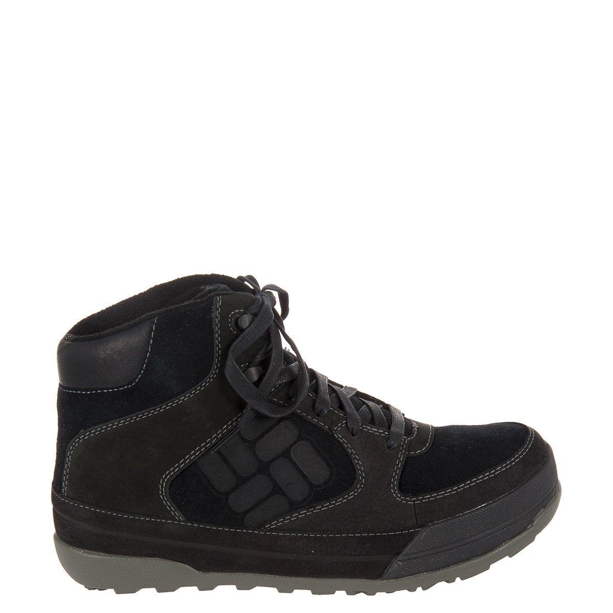 502513224928 Pánska čierna zimná obuv Columbia