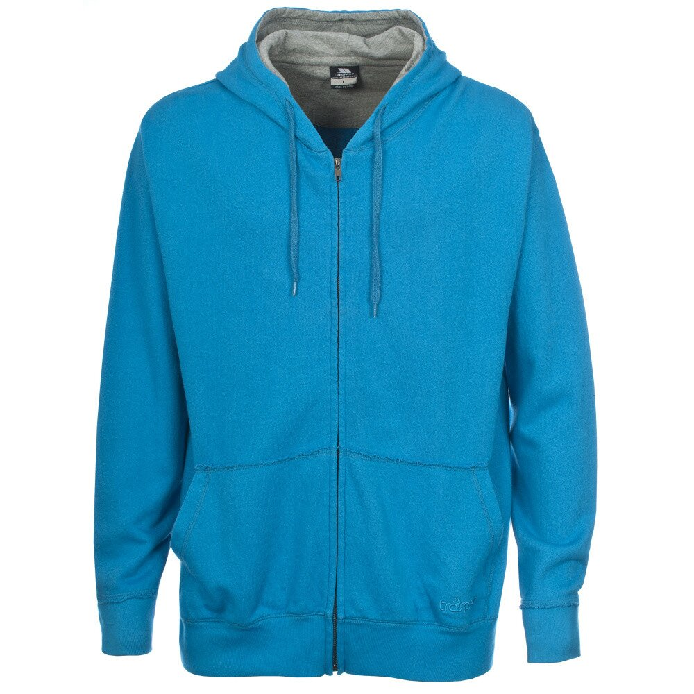 Pánska modrá mikina na zips Trespass  e9b8b64e127