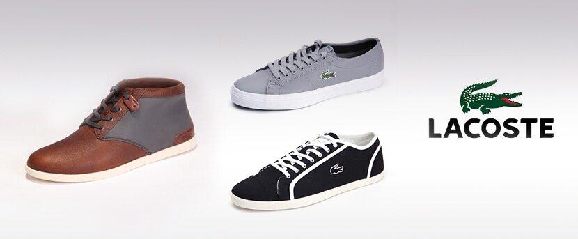 f3ee42aa92c1 Pánske topánky Lacoste - športová klasika s logom krokodíla ...