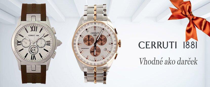 Luxusné a štýlové hodinky Cerruti 1881  d48bab8ace2