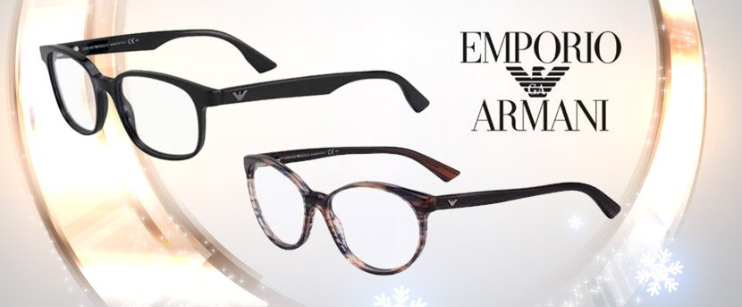 Klasika aj retro - dioptrické rámy Emporio Armani  1a7d41933d9