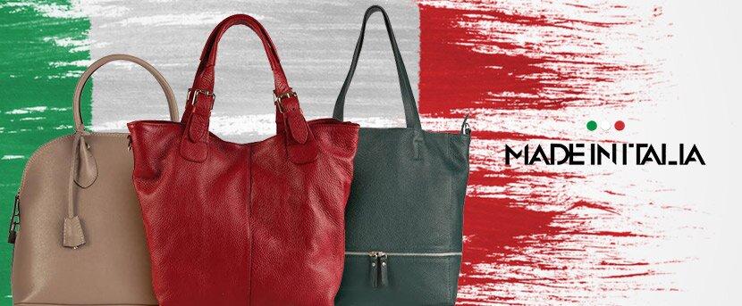 Elegantné kožené kabelky Made in Italia  e5ea00b2a2c