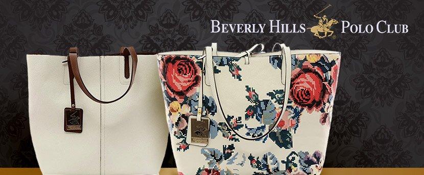 Luxusné dámske kabelky Beverly Hills Polo Club  6c566dcb706