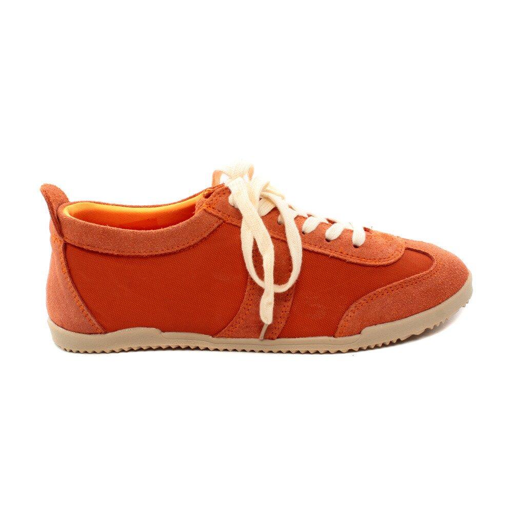 Dámske oranžové kožené tenisky Bagatt  e8b38024234