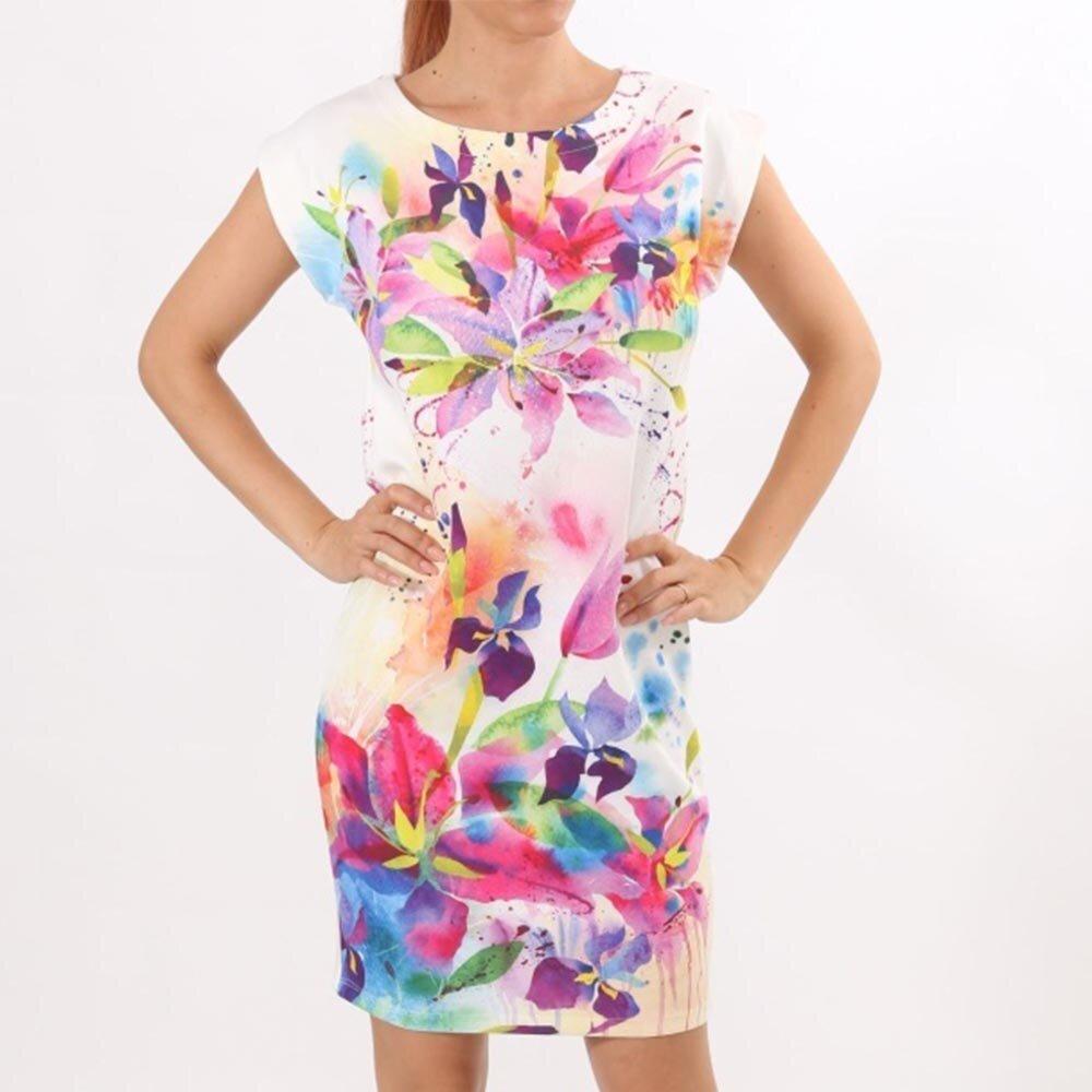 d2b772625d Dámske kvetinové šaty s krátkym rukávom Santa Barbara