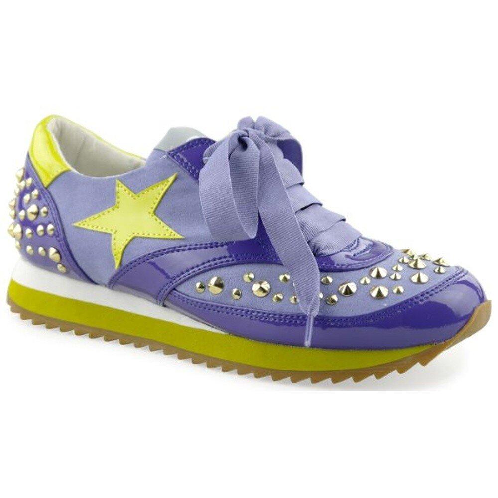 Dámske fialové tenisky s hviezdou a cvokmi Blink  b600f5bf0b1