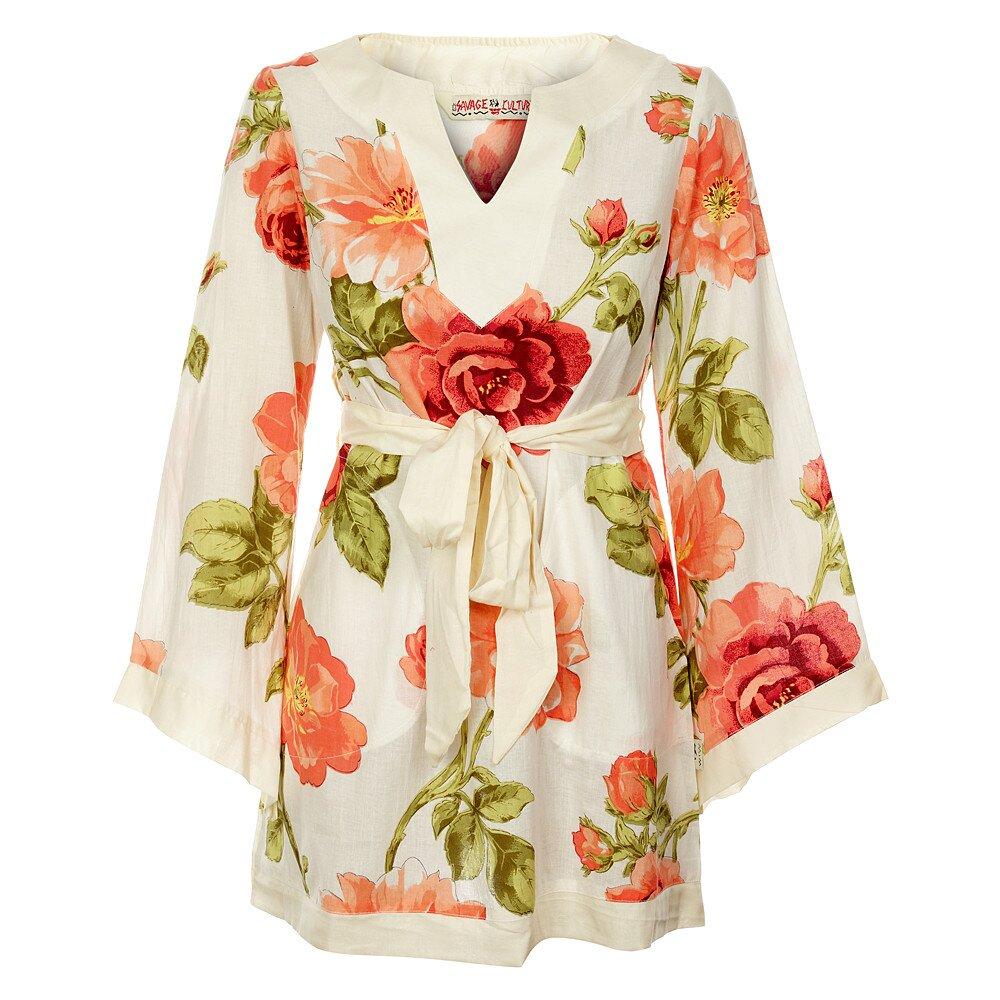 fcc913ca5748 Dámske krátke šaty od Savage Culture s kvetovaným vzorom
