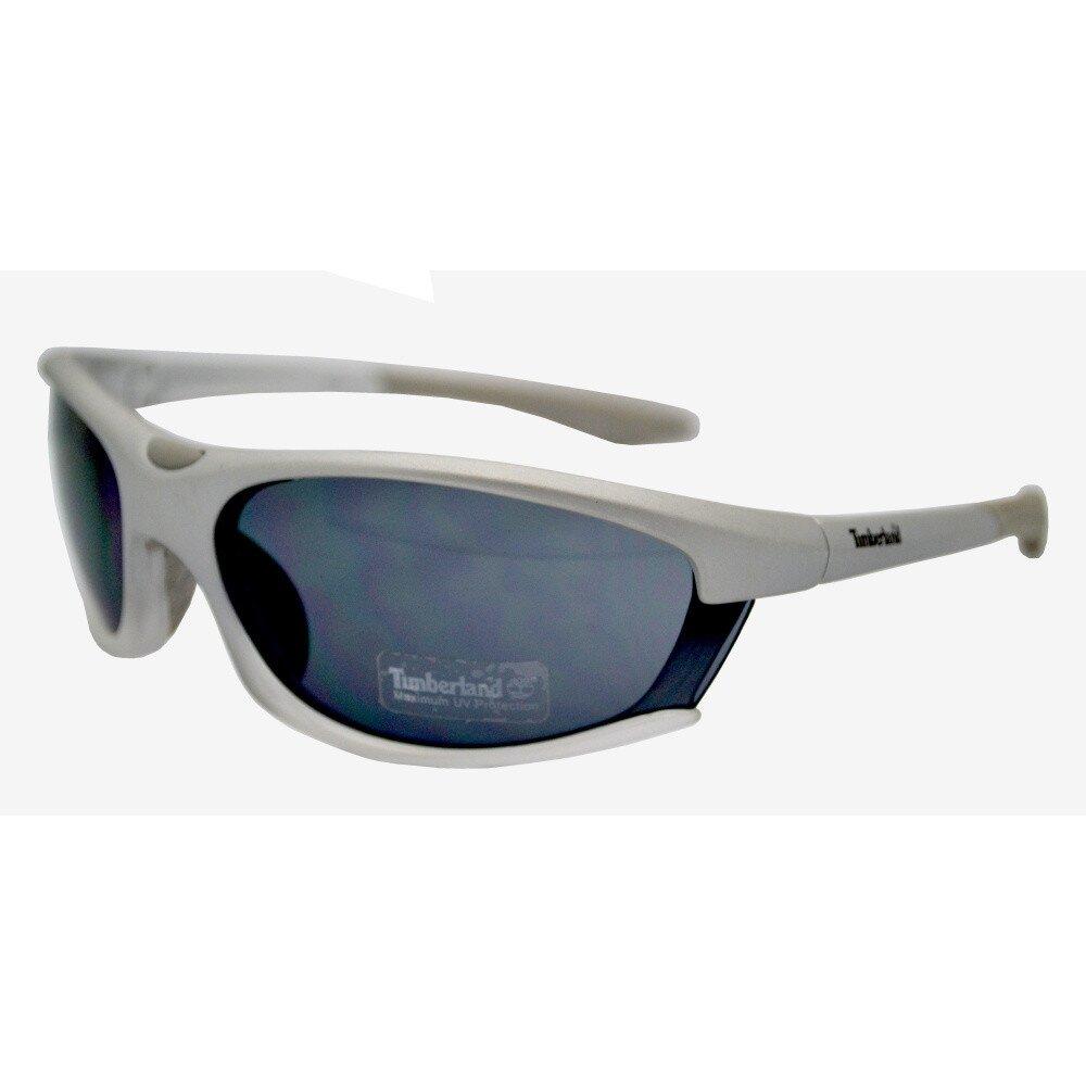 c7966a088 Strieborné športové okuliare s čiernymi sklíčkami Timberland   Zlavomat.sk
