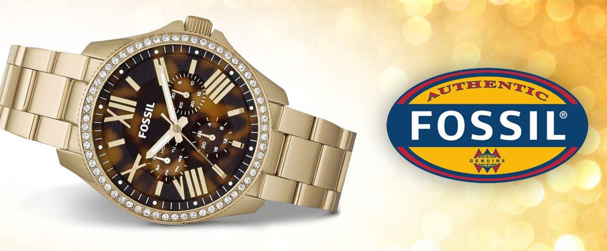 Čas v elegantnom kabáte - dámske hodinky Fossil  c3e82570d01