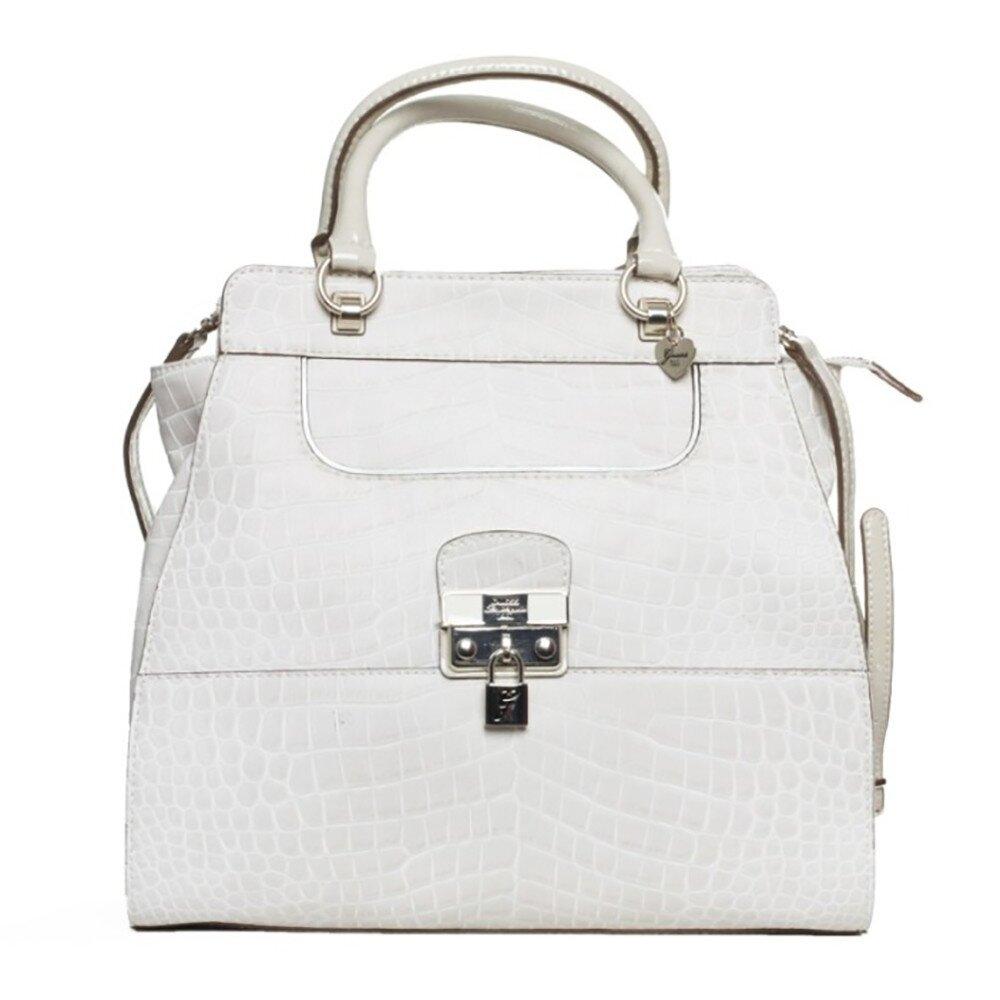 0732f7e4b9 Dámska biela kabelka Guess