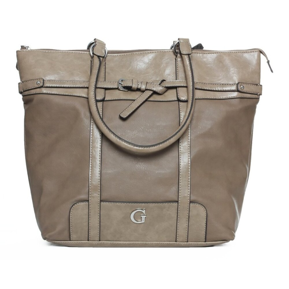 Dámska kabelka vo farbe taupe Guess  57e7337a4cd