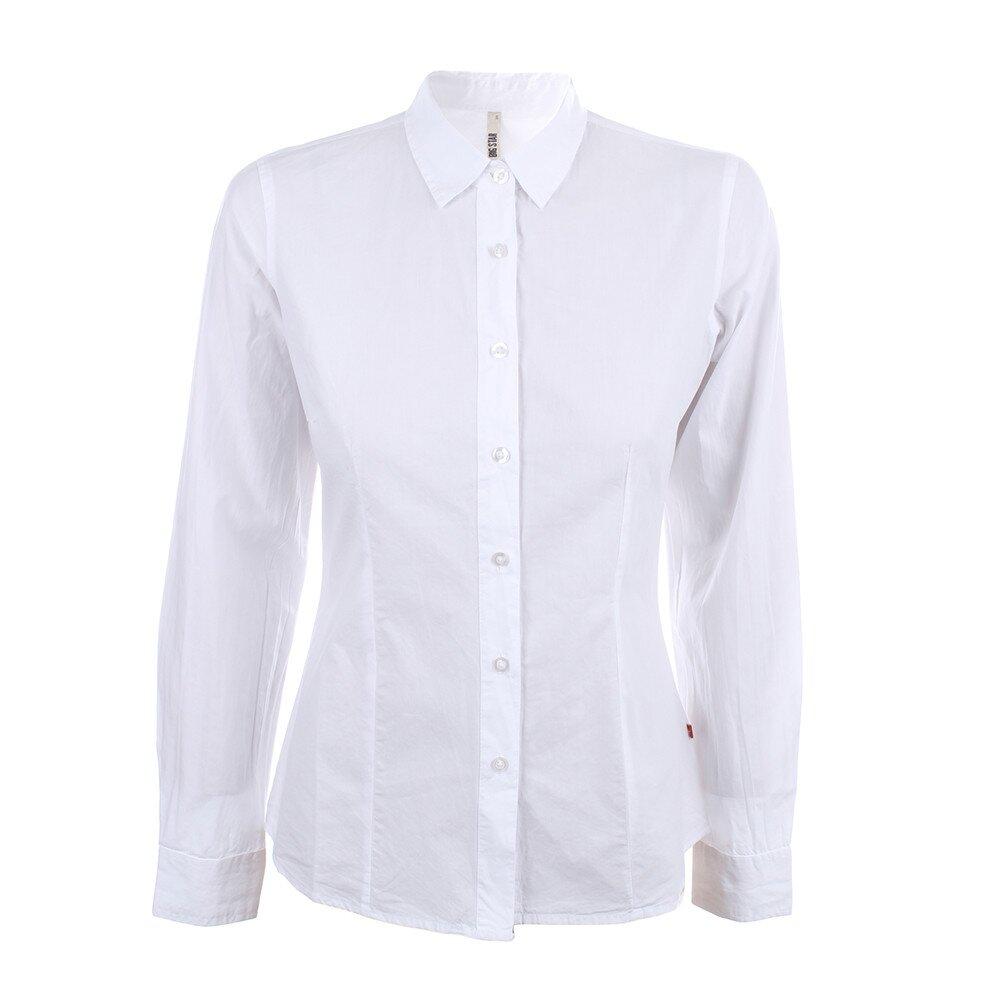 a9ac0e07d7276 Dámska biela košeľa s dlhým rukávom Big Star   Zlavomat.sk