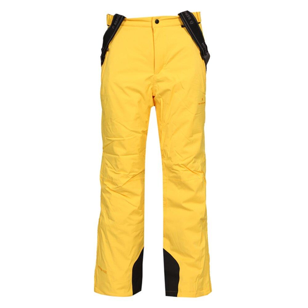 748c2adfa637 Pánske žlté lyžiarske nohavice Bergson