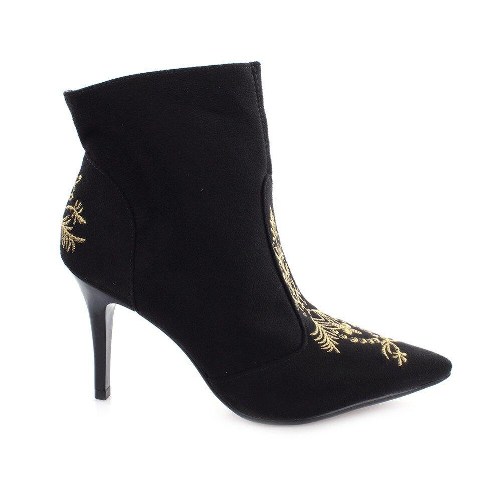 925dbb64f4b7 Dámske čierne topánky na ihlovom opätku Vizzano