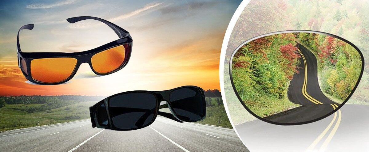 234ced148 Úžasné okuliare pre vodičov polarizačné + protislnečné, 2 kusy v balení |  Zlavomat.sk