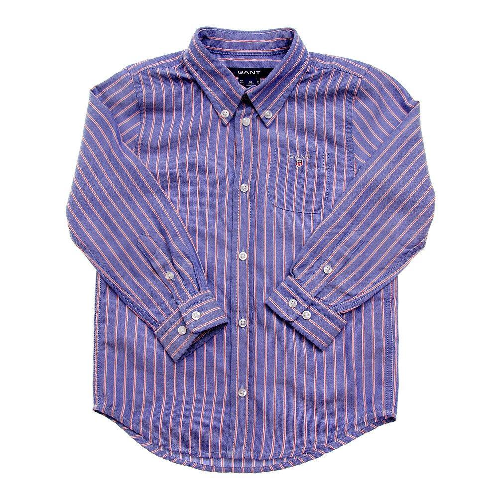 eb0eabe14c44 Detská modrá prúžkovaná košeľa Gant