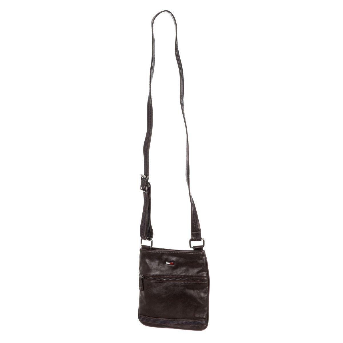 Pánska hnedá taška z umelej kože Tommy Hilfiger  9806fa2fead