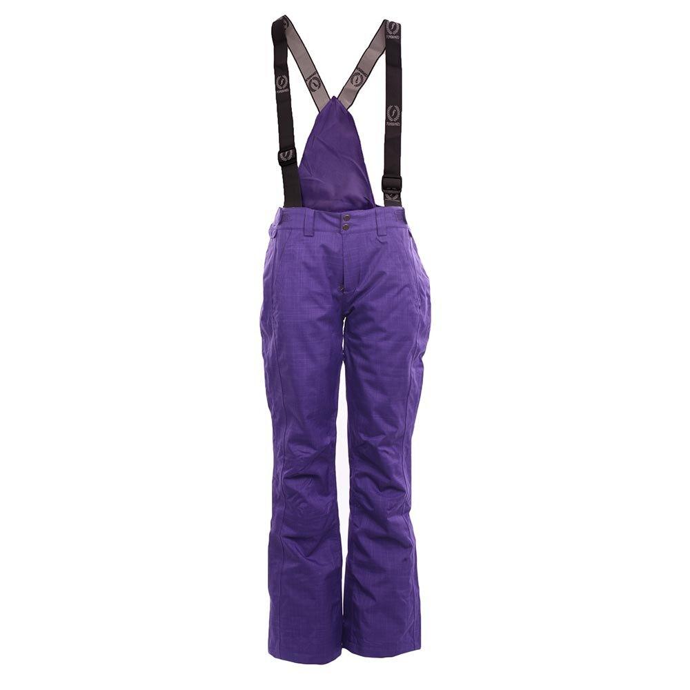 849284ffb389 Dámske fialové zimné nohavice Fundango