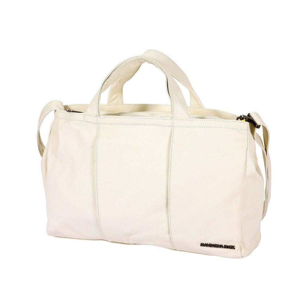 16b7b83bbbb3c Dámska biela cestovná taška Mandarina Duck | Zlavomat.sk
