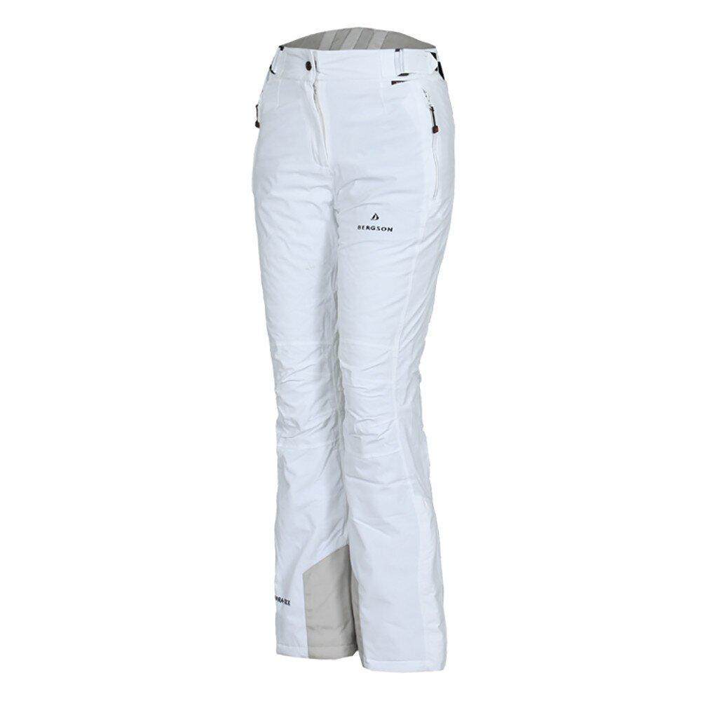 0a7303ce8ed2 Dámske biele lyžiarske nohavice Bergson