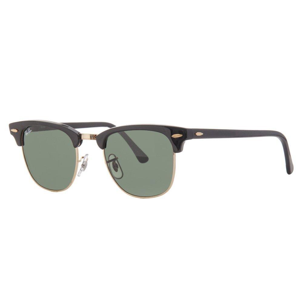 e63f2d0a3 Čierne slnečné okuliare Ray-Ban Clubmaster so zlatými obrubami   Zlavomat.sk