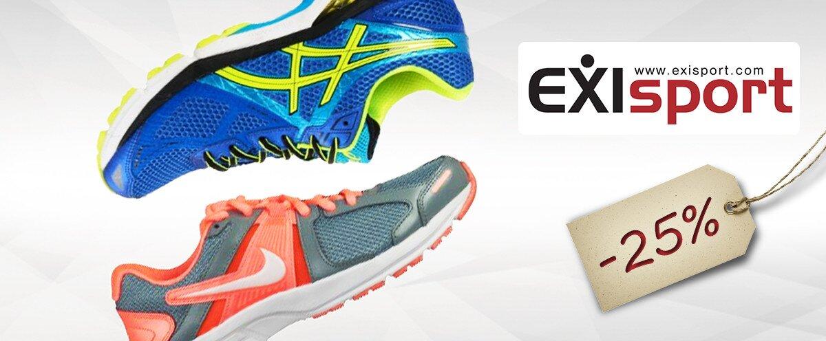 728054b09 25% zľava na obuv v predajniach EXISPORT | Zlavomat.sk