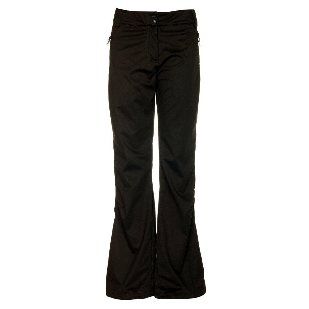 68970321618a Dámske čierne softshellové nohavice Loap
