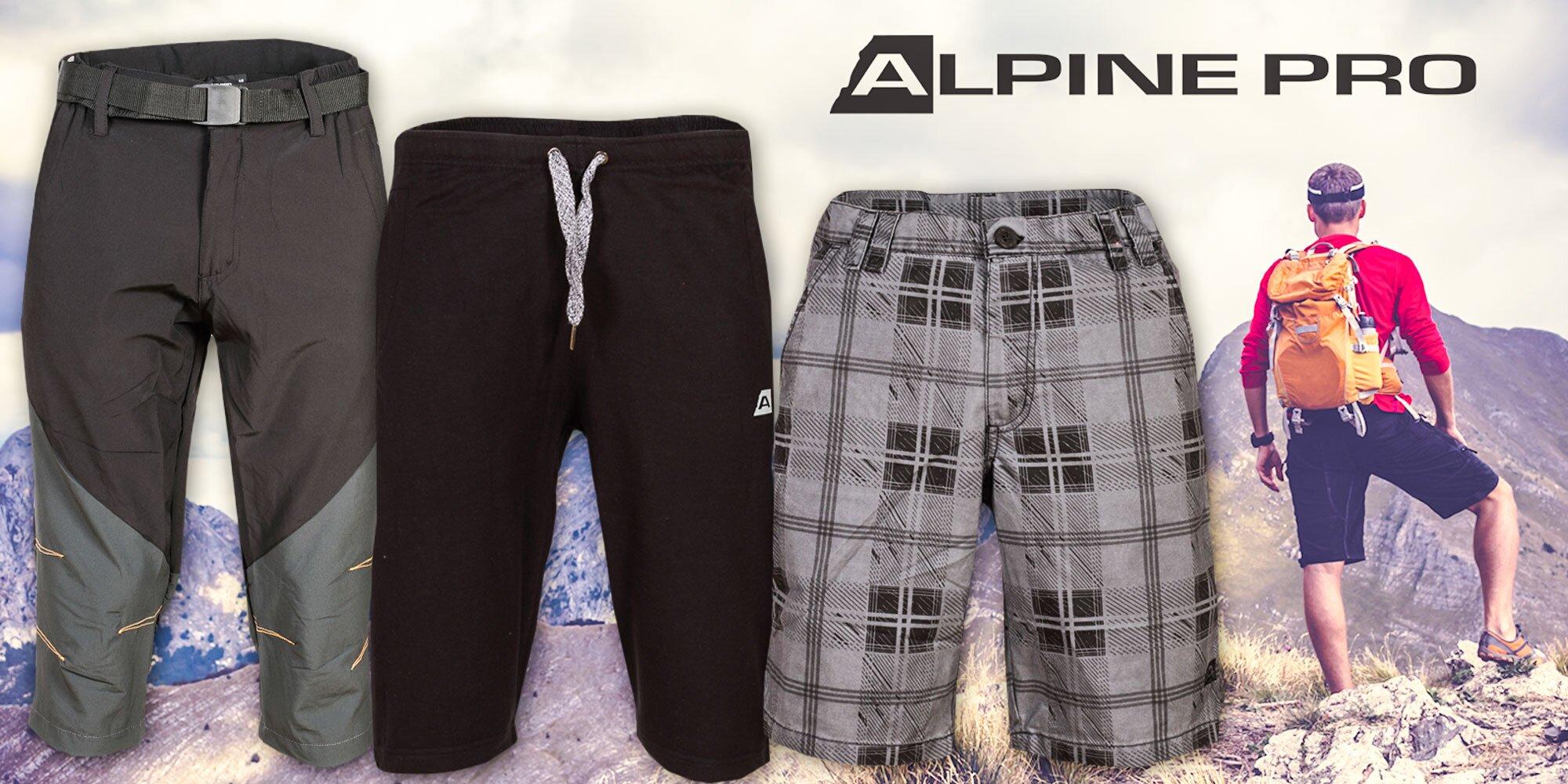 25e217689cc7 Pánske 3 4 nohavice a šortky Alpine Pro