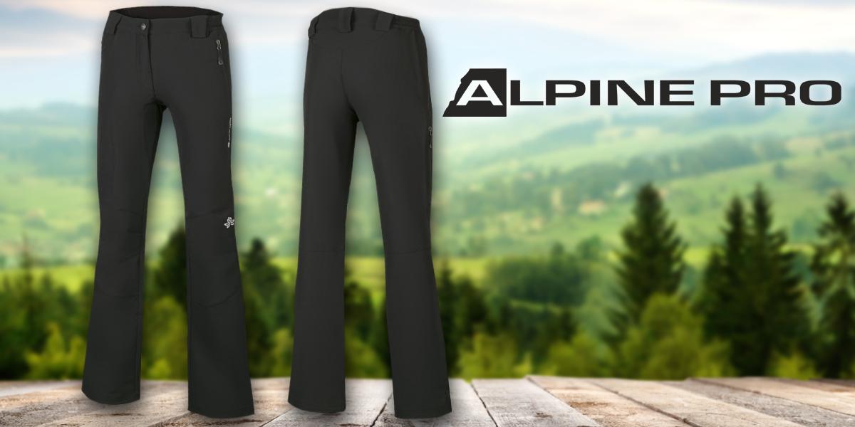 Dámské softshellové nohavice Alpine Pro  b7899e773d