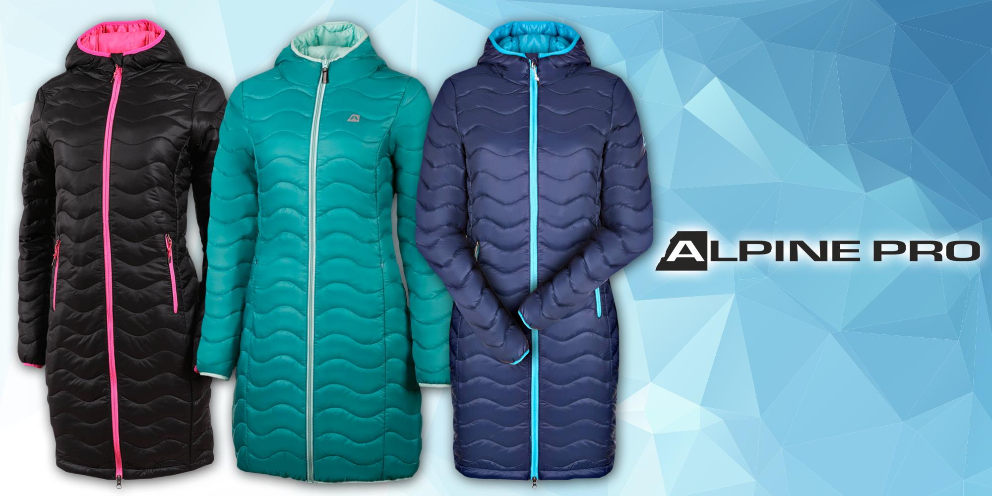 Dámsky zateplený kabát Alpine Pro  ebbab95da9