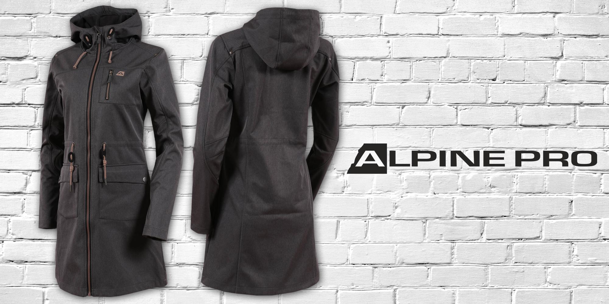 Dámsky softshellový kabát Alpine Pro  5b55f202ba1