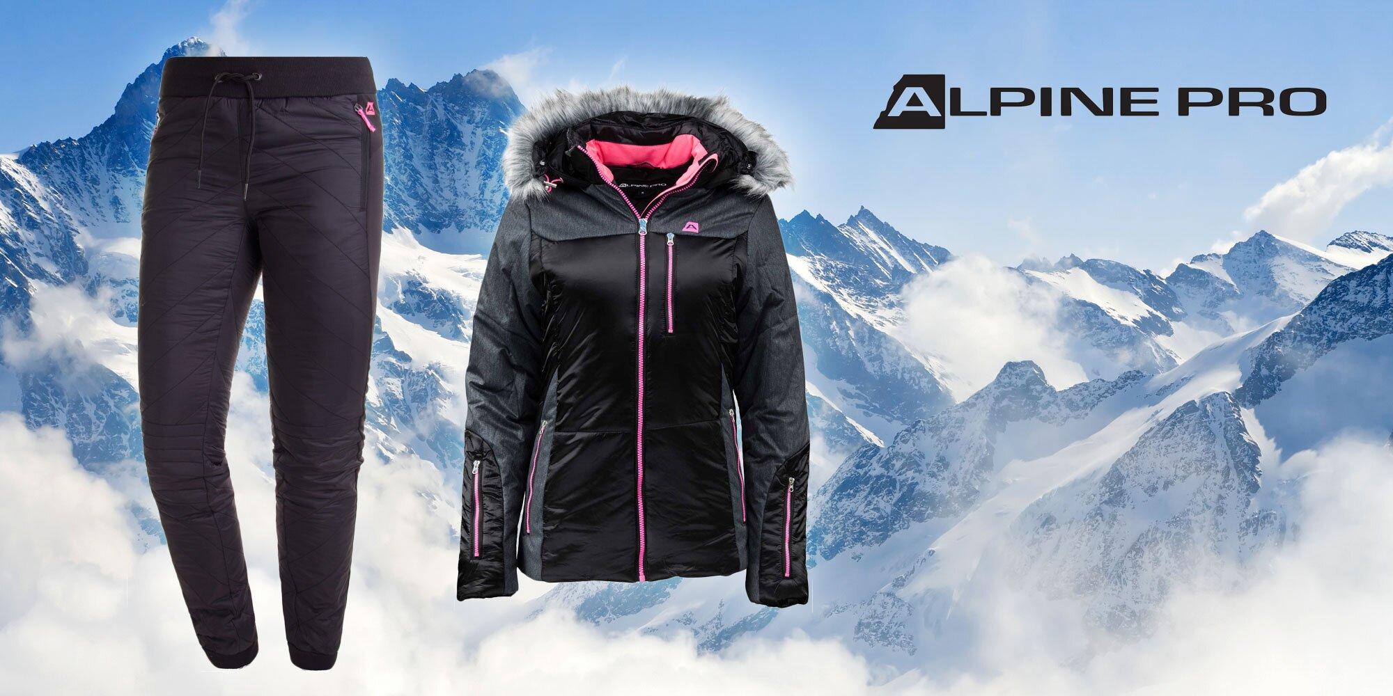 edaeab207dd2 Dámské zateplené nohavice a bunda Alpine Pro!