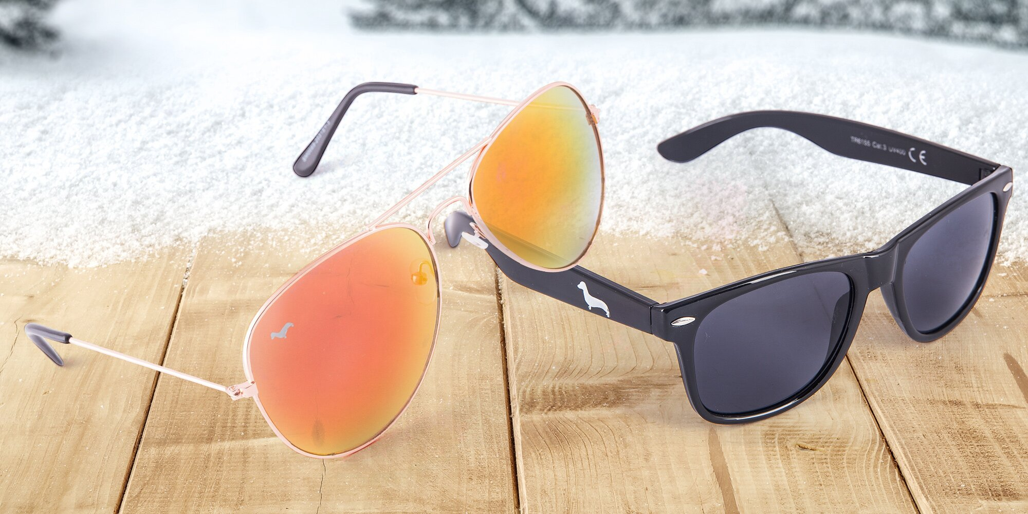 Štýlové slnečné okuliare pre zimné radovánky!  f602025ff14