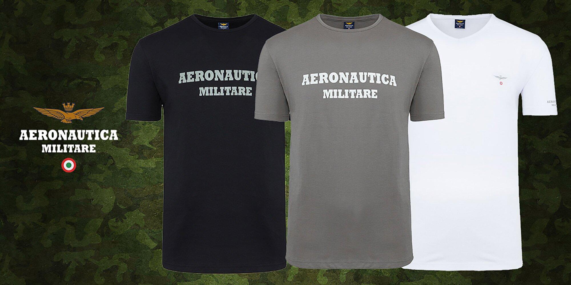 Set 3 tričiek talianskej značky Aeronautica Militare  494b27560f6