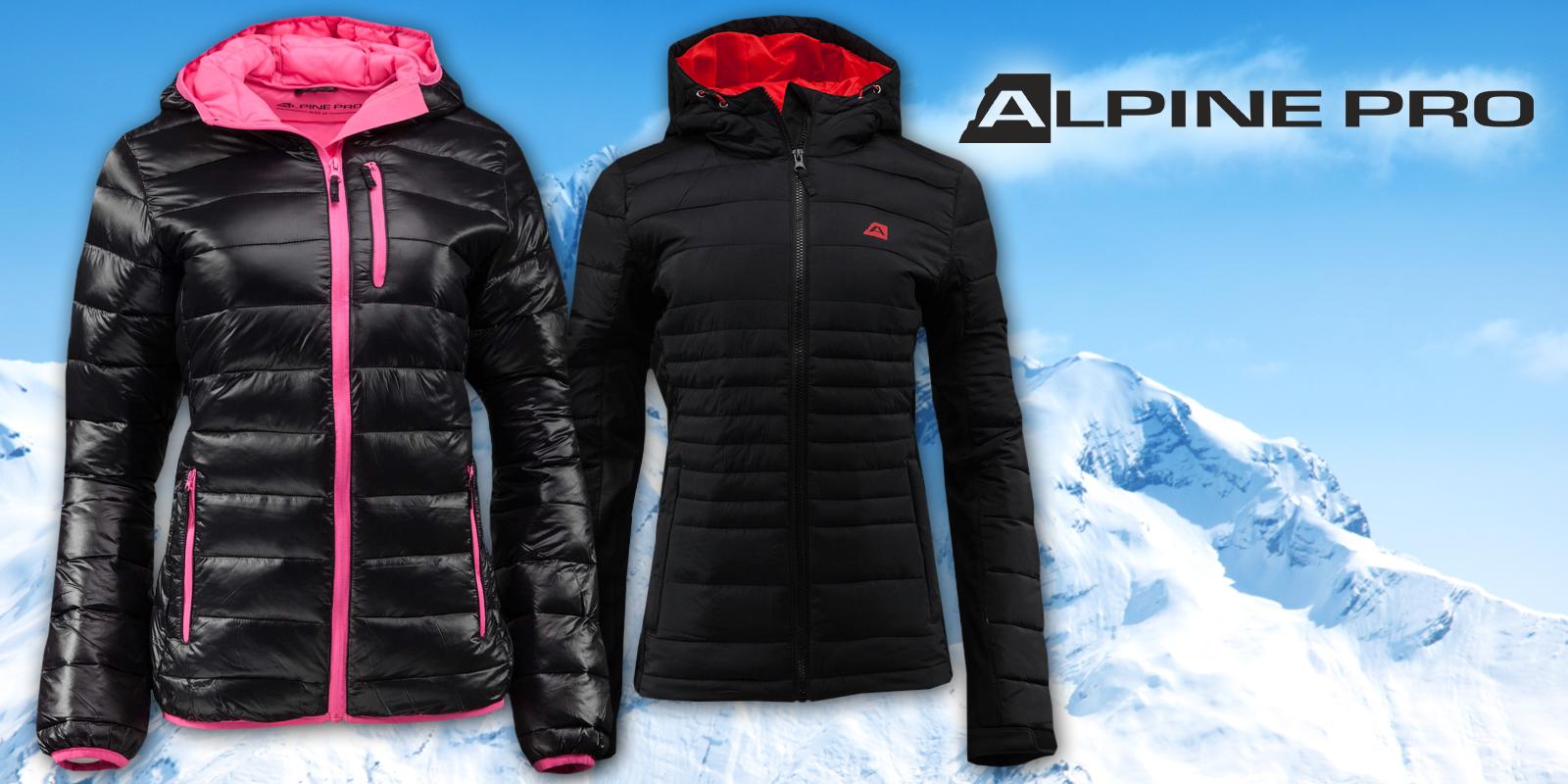 134fecac5 Buďte pripravené na zimu: dámske bundy Alpine Pro s impregnačnou vrstvou  DWR   Zlavomat.sk