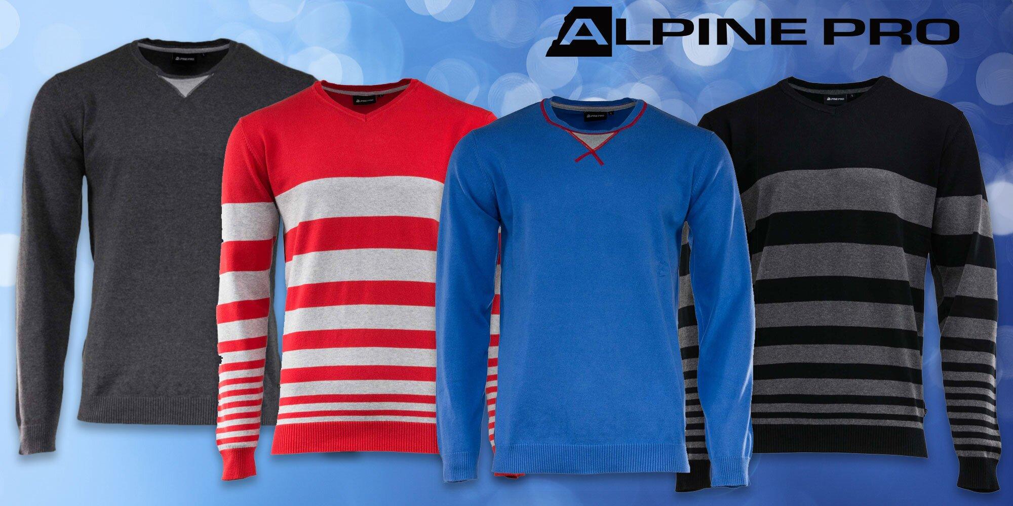 8ada2f51976f Pánsky sveter Alpine Pro