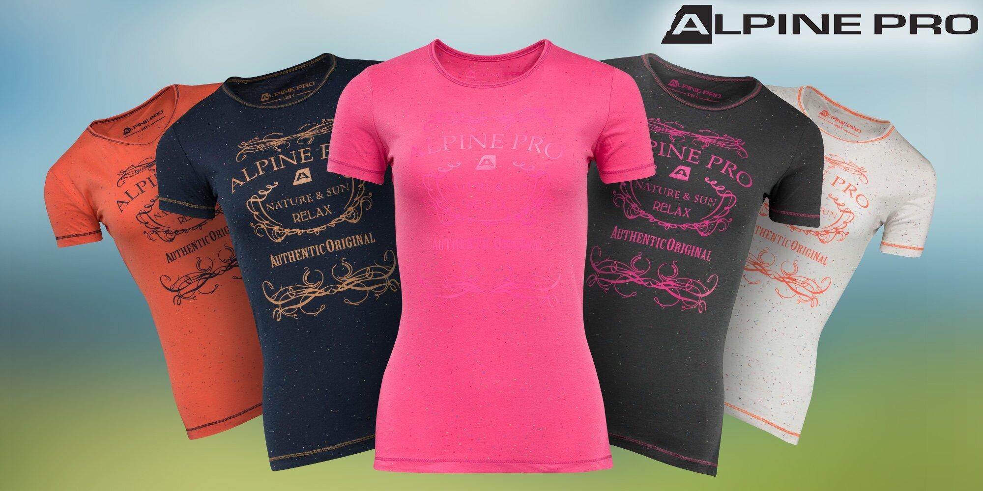 417cc2fc13ab Dámske bavlnené tričká Alpine Pro