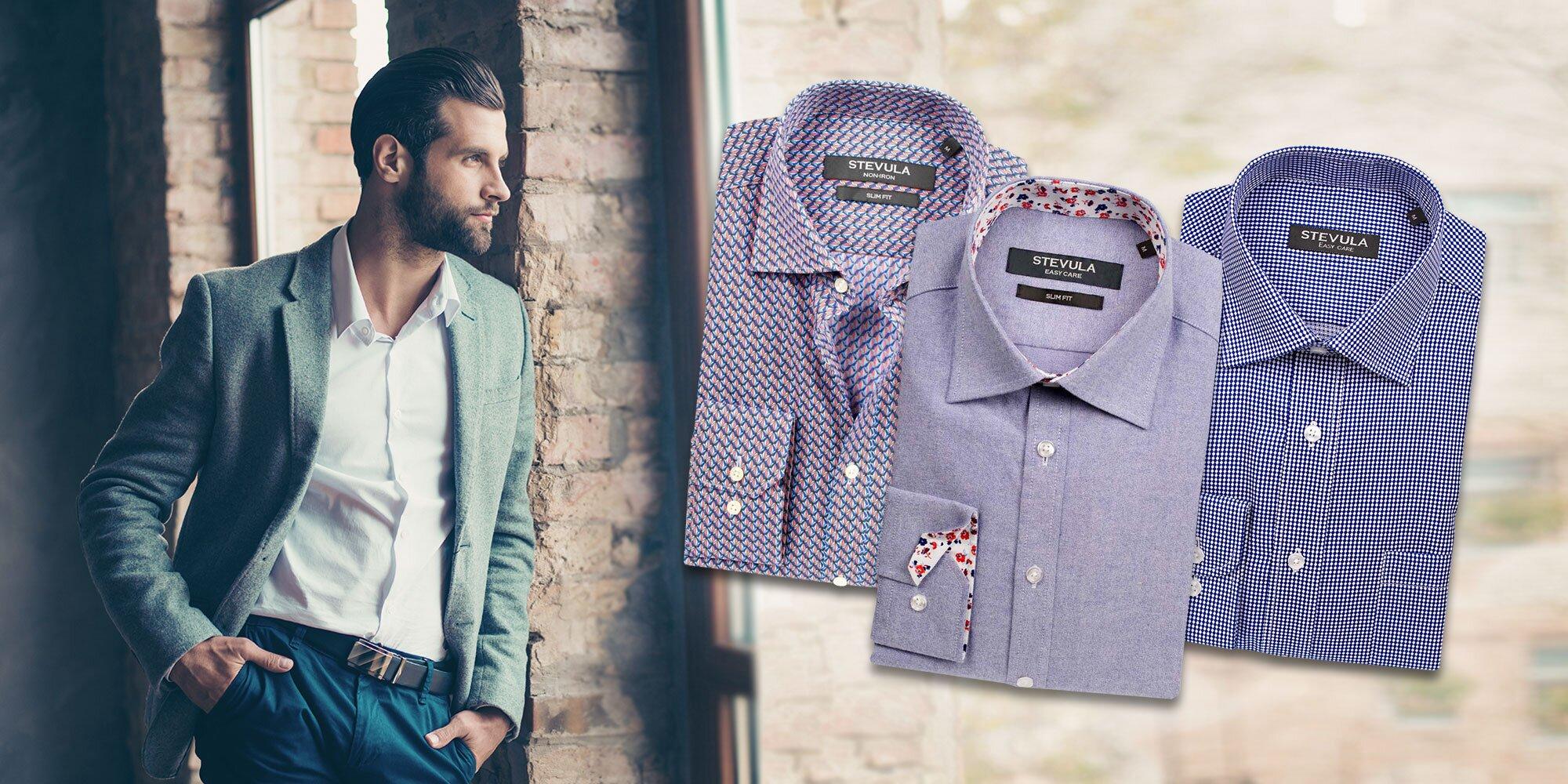 Elegantné pánske košele slovenskej značky zo 100 % bavlny  7cb136e74ba
