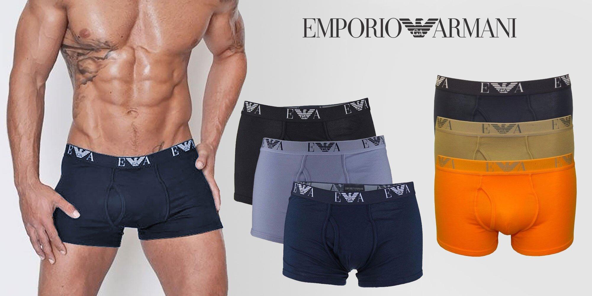 a3b37211d Set 3 komfortných boxeriek Emporio Armani | Zlavomat.sk