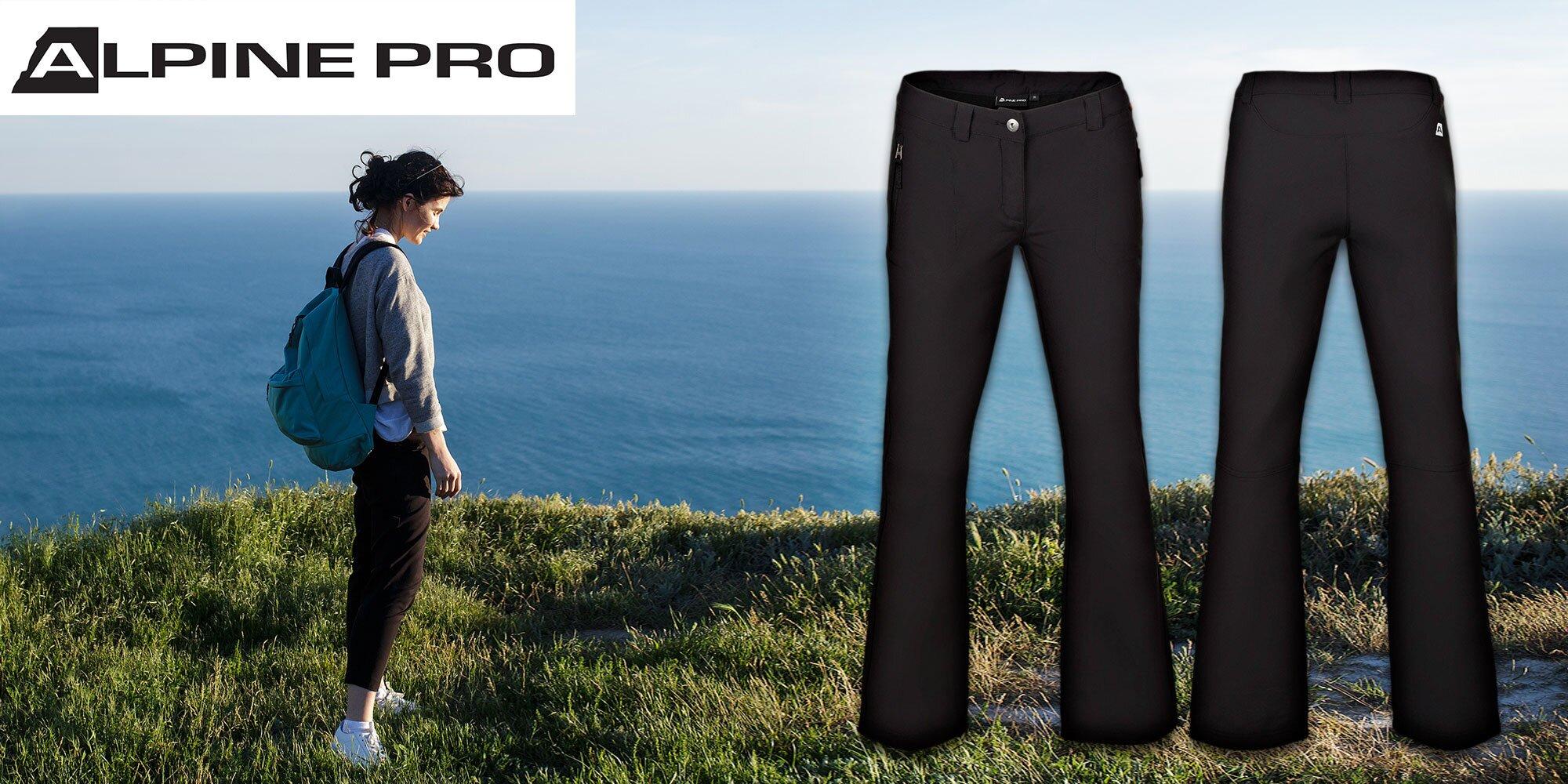 80a42181ad98 Dámske softshellové nohavice Alpine Pro DIMASA
