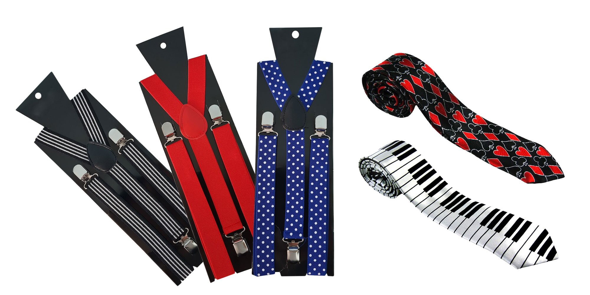 3918224ac6b5 Štýlové vtipné pánske dámske traky a kravaty!
