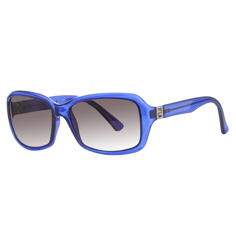 Dámske modré slnečné okuliare Fendi s kamienkami  2404a0520f0