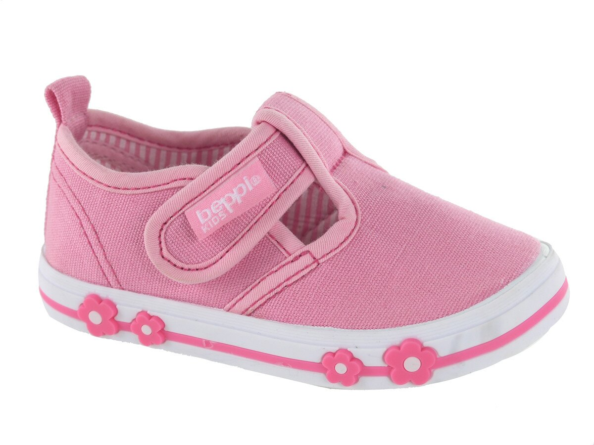 6c5ff5bf3 Detské ružové plátené tenisky Beppi | Zlavomat.sk