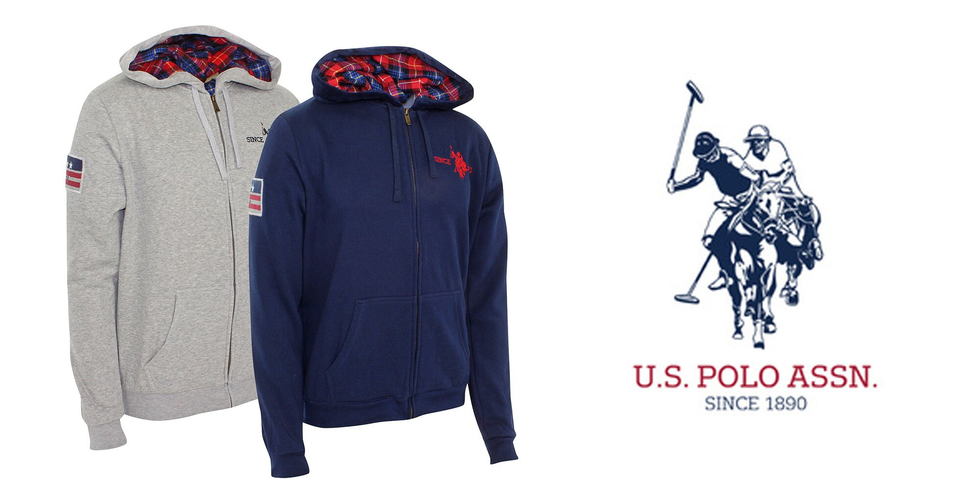 0fc22d6331c1 Pánska štýlová mikina U. S. Polo Assn
