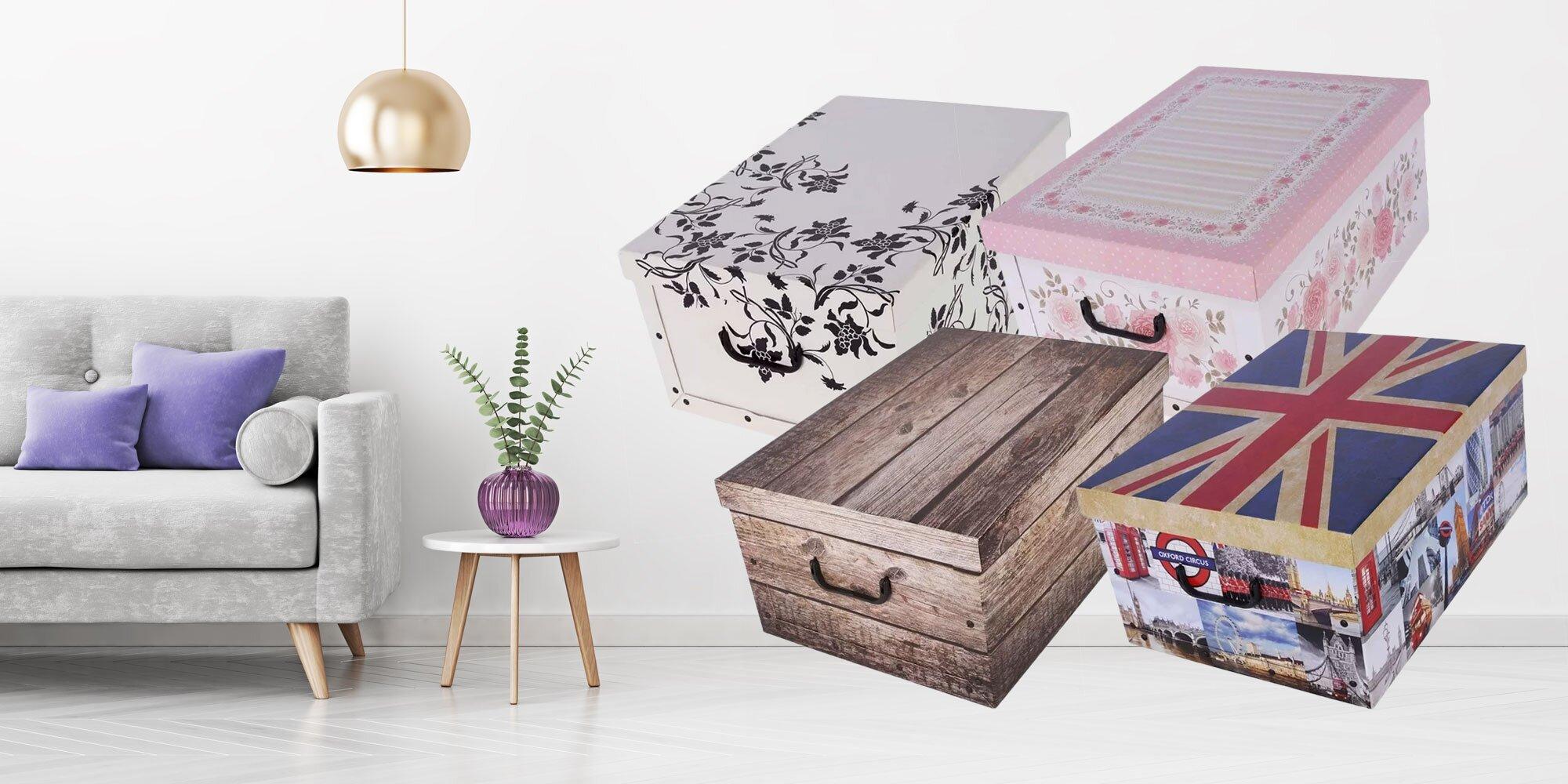5a3d906bd Dekoračná úžitková krabica z pevného papiera! | Zlavomat.sk