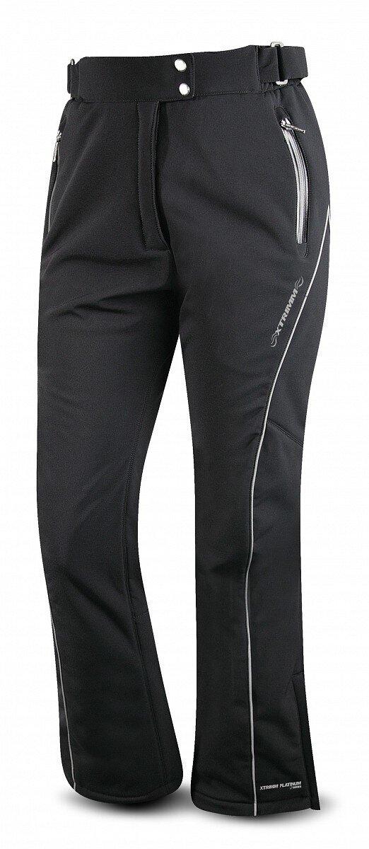463f34144785 Dámske čierne softshellové lyžiarske nohavice Trimm