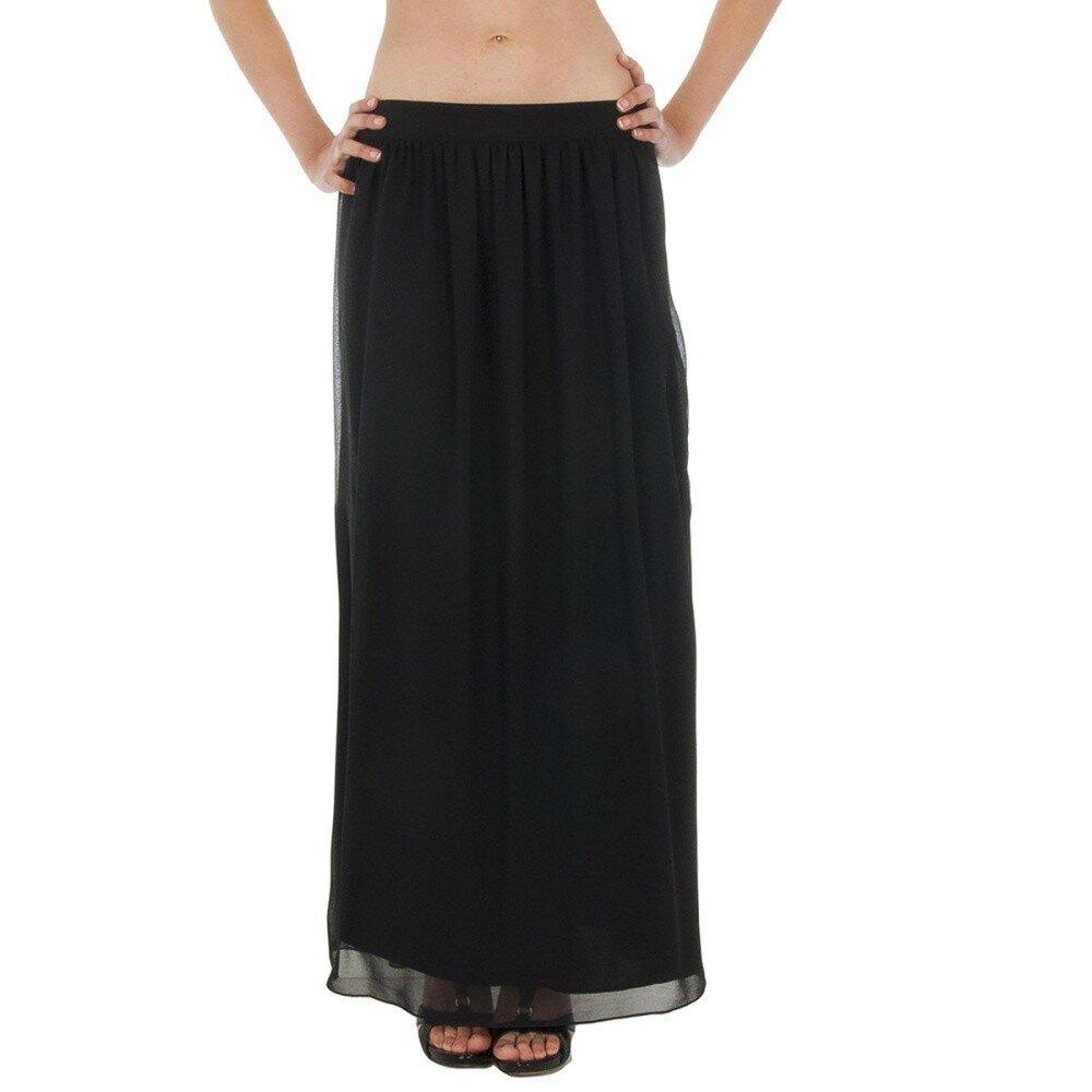 7fda3021d2b0 Dámska čierna dlhá sukňa Paola Pitti